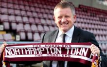 Northampton Town manager Chris Wilder